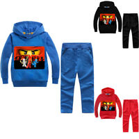 Boys Girls NINJAGO Kids Cartoon Sweatshirts Hoodies & Pants Casual Clothing Sets