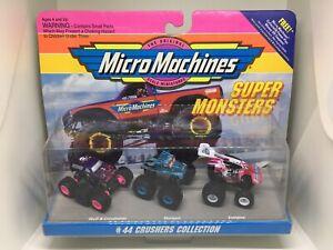 Micro Machines #44 Crushers, 1994, Rare! Mint Monster Trucks