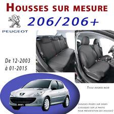 Housses de sièges Sur Mesure pour Peugeot 206 & 206+