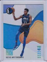 2018-19 Status Kostas Antetokounmpo Rookie Card Blue #189 Dallas Mavericks RC SP