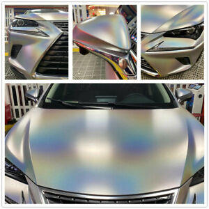Matte Chameleon Rainbow Car Wrap Vinyl Car Body Color Change wrapping film DIY