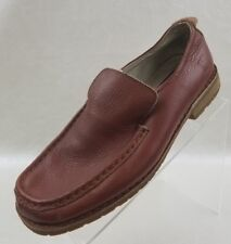 Buffalino Loafers Moc Toe Carmel Leather Mens Slip On Shoes Size 9.5