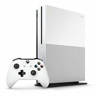 NEW Microsoft Xbox One S 1TB 4K Blu-Ray Console + 1 Controller + XBOX GAME Pass
