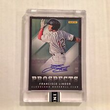 2013 panini Prospects Auto FRANCISCO LINDOR #8 Indians RC AUTO 1/5 Made Rookie