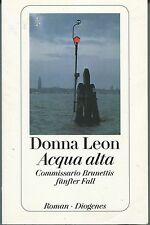 Donna Leon - Acqua alta - Commissario Brunettis fünfter Fall
