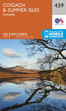 Coigach and Summer Isles Explorer Map 439 - OS - Ordnance Survey