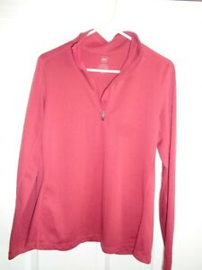 REI Ladies' Large Pullover Long Sleeve Polartec Shirt/Sweater  - Superb Color!