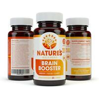 BRAIN BOOSTER -  Increase Focus, Memory & Clarity - Nootropic Supplement