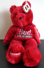 Dale Earnhardt Jr #8 Gold'n Bears 23 Karat 2001 Plush Bear PROMO Budweiser RARE