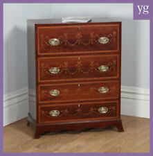 Mahogany Edwardian Antique Chests of Drawers
