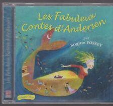 CD AUDIO LES FABULEUX CONTES D'ANDERSEN vol BLEU Brigitte Fossey