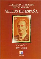 Catálogo Edifil Especializado  Serie Roja   Tomo IV  1991-2010    NUEVO