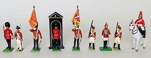 Vintage Britains Royal Guard Painted Metal Figures