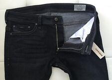 NWT-DIESEL THANAZ 0RUS_Stretch Slim-Skinny Jeans (Size-31X32/Made in USA/Black)