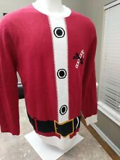 Ugly Christmas Sweater Santa Size 2XL
