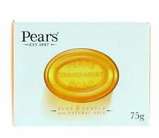 2x Pears Transparent Soap Pure & Gentle with Natural Oils - 75g Bar Boxed