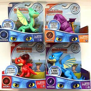 NETFLIX DreamWorks DRAGONS Rescue Riders AGGRO Burple SUMMER Winger COMBINE SHIP