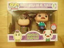 Funko POP MAGILLA GORILLA & Mr Peeble NYCC 2016 esclusivo 1 del 1000