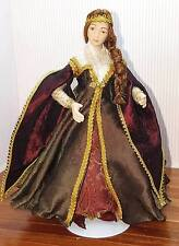 OOAK 1:12 Scale Miniature Medieval Lady Doll