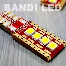 4X BANDI 10T SIDE White Samsung LED 2835 Car Interior Plate Light Bulbs DC12