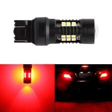 Red LED Brake Stop Tail Bulbs 1200 Lumen  Car Backup Reverse Lights Parking Lamp