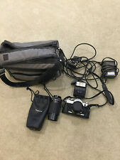 Canon AE-1 Camera with flash and Tokina lens