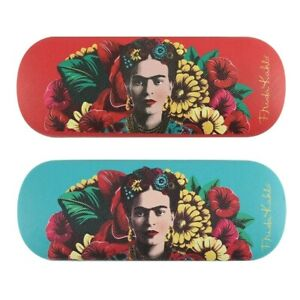 Frida Kahlo Glasses & Sunglasses Case Colourful & Funky Design,Turquoise