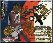 1997-98 Fleer Skybox E-X 2001 Basketball Sealed Hobby Box Jambalaya Jordan ? etc