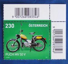 PUCH MV 50 V - Serie Motorräder,  Mi 3546 - Österreich SM August 2020**