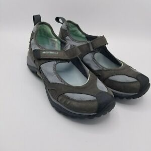 Merrell Women's Shoes Siren MJ Dark Shadow Size 6.5 Hook Loop Strap Vibram