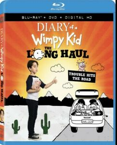 DIARY OF A WIMPY KID: THE LONG HAUL  BLURAY Dvd NEW