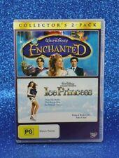 Enchanted / Ice Princess (DVD, 2009, 2-Disc Set) Joan Cusack, Kim Cattrall☕ R 4