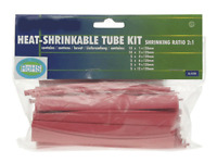 40 Gaines Thermo Rétractables Couleur ROUGE de 1 mm à 12 mm
