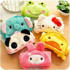 2 pcs Cute cartoon baby towel panda, elephant, rabbit, frog, duck