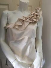NEW Karen Millen Ivory Silk Top 14 (RRP £99.00)