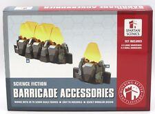 Spartan Scenics SGSS17 Barricade Accessories Terrain Sci-Fi Barriers Force Walls