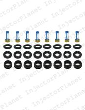 Set of 8 Delphi Fuel Injectors Repair Kit for 1999-2007 GM 6.0L V8 25317628