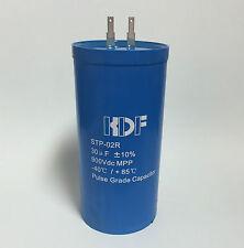 2pcs 30uF 900vdc Pulse Grade Capacitor quick connect terminals electric fences