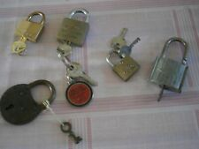 Qté 5-BLUEKEY solide iron body keyed alike 60mm cadenas MS-CSA60-KA