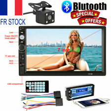 7'' HD 2 DIN Voiture Stéréo MP5 Player Autoradio AUX Bluetooth Radio USB/TF/FM