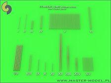 Master Model 1/350 #SM350077 SMS Viribus Unitis Masts/Yards/Turned Parts Set