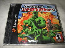 New Factory Sealed Army Men: Sarge's Heroes for Sega Dreamcast