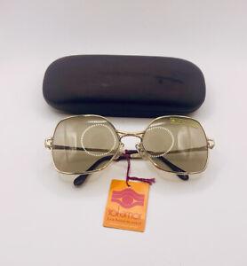 Vintage 1960s SOL AMOR Lunettes De Paris Oversize Square French Sunglasses & Tag