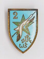 INSIGNE INFANTERIE D'AFRIQUE - 2° Division d'Infanterie Marocaine - Sans marque
