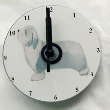 More details for bearded collie cd clock by curiosity crafts