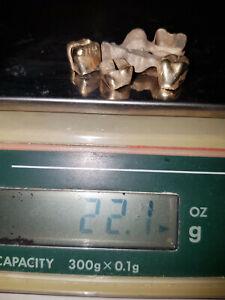 Zahngold, Altgold, Bruchgold - 22 g
