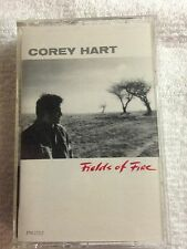 COREY HART FIELDS OF FIRE CASSETTE TAPE EMI 1986