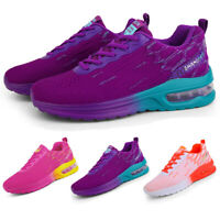 Women's Air Cushion Sneakers Casual Sports Breathable Running Tennis Shoes Gym