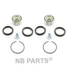 2x Wheel Bearing Kit Front For Subaru Forester Impreza Legacy Outback