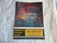 1977 Harveys Construction Equipment News Brochure International 560 Pay Loader